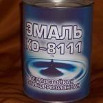 Эмаль КО-8111