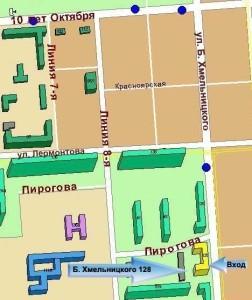 Цветной бульвар схема проезда