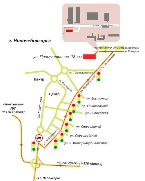 Термика схема проезда