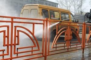 В Иркутске установят ограждения с антикоррозионным покрытием